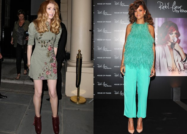 rihanna and nicola roberts tv show