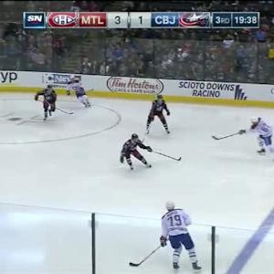 Curtis McElhinney Save on Max Pacioretty (00:25/3rd)