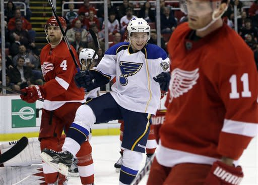 Blues Red Wings Hockey