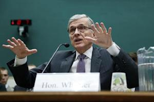 Wheeler testifies before a House Energy and Commerce Communications and Technology Subcommittee hearing on oversight of the FCC on Capitol Hill in Washington