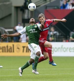 Timbers end scoring drought by beating Fire 2-1
