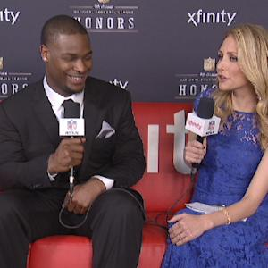 'NFL Honors' Xfinity Couch: Pittsburgh Steelers running back Le'Veon Bell