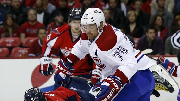 Desharnais scores 1st, Canadiens top Capitals 3-2