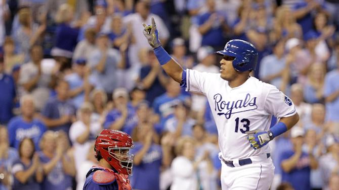 Perfumed Perez making good scents for Royals