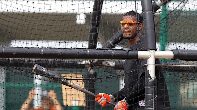 MLB: Baltimore Orioles-Workout