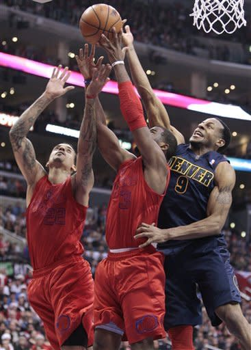 Clippers beat Nuggets 112-100 for 14th win in row
