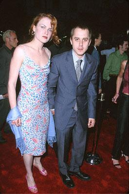 Premiere: Mariah O'Brien and husband Giovanni Ribisi at the Mann's Chinese Theater premiere of Warner Brothers' Battlefield Earth - 5/10/2000