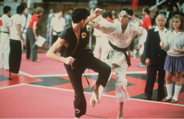The Karate Kid Sony Pictures 1984 Ralph Macchio