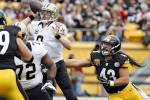 Saints regroup, top erratic Steelers 35-32