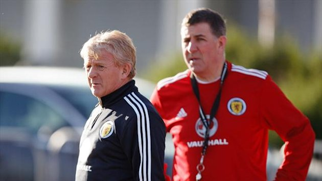 Mark McGhee, right, has hinted Celtic's players will be used sparingly on Wednesday