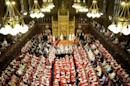 This picture taken on May 8, 2013 shows a general view of the State Opening of Parliament in The House of Lords in London