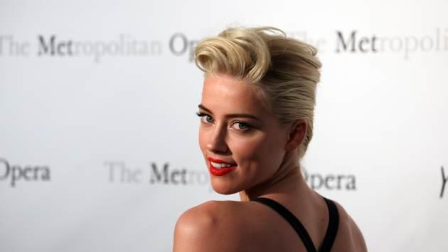 Amber Heard -- Getty Images