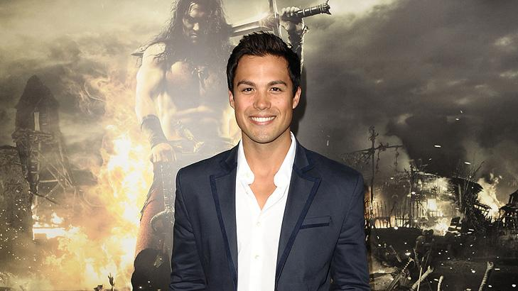 Conan the Barbarian 2011 LA Premiere Michael Copon