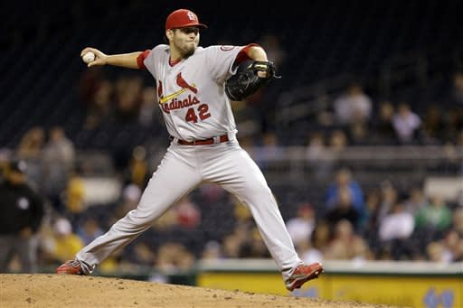 Cardinals jump on Pirates early in 10-6 win