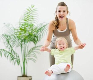 How to keep fit and healthy when you have a baby