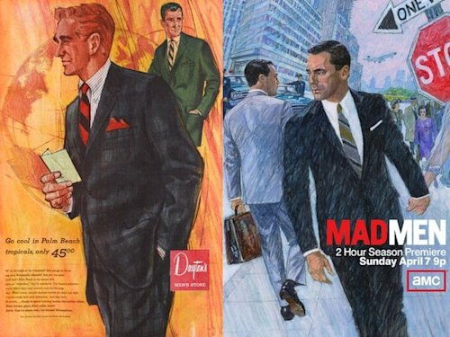 dayton target ad don draper mad men
