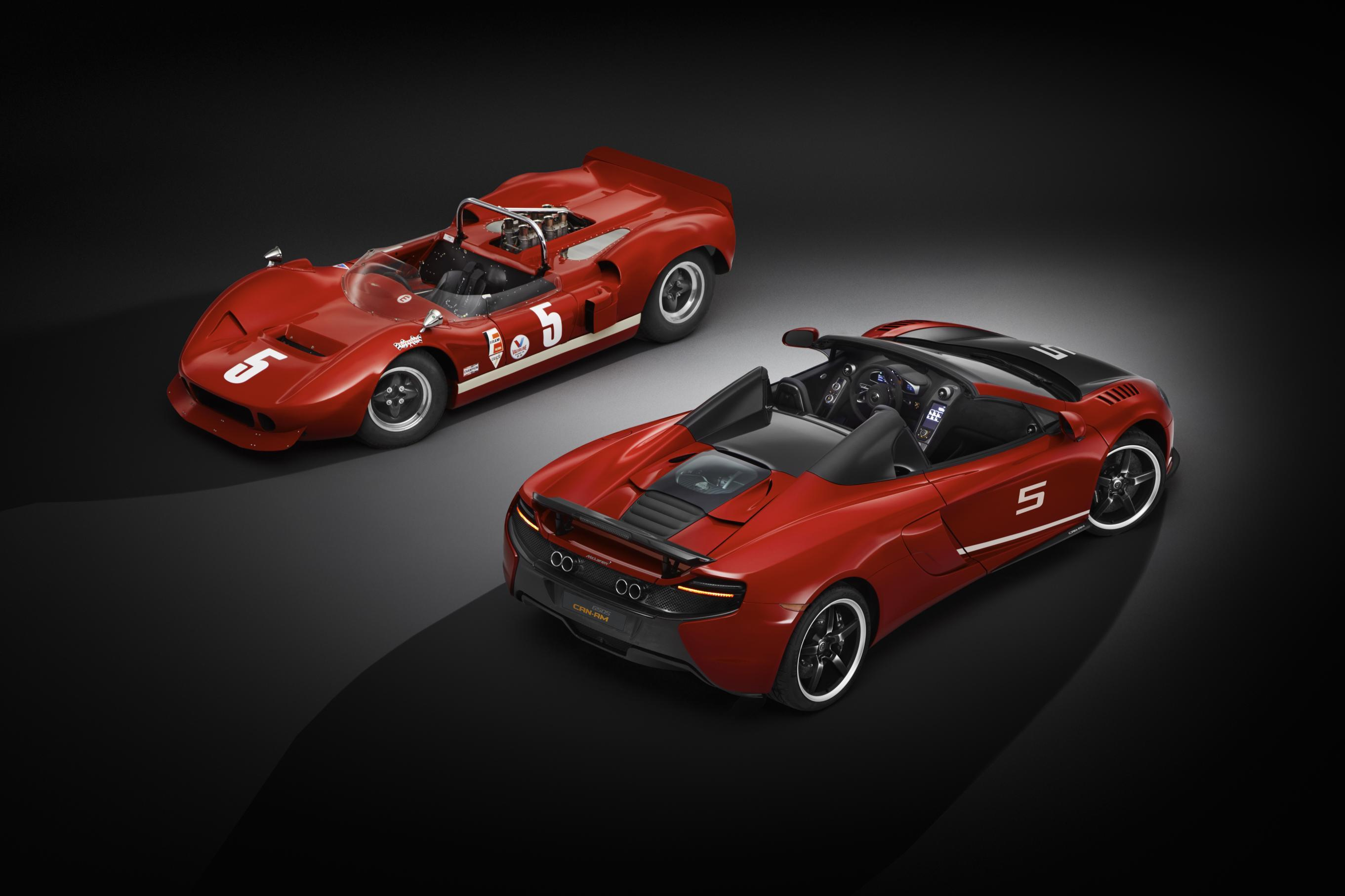 McLaren marks Can-Am's 50th anniversary with a special edition 650S