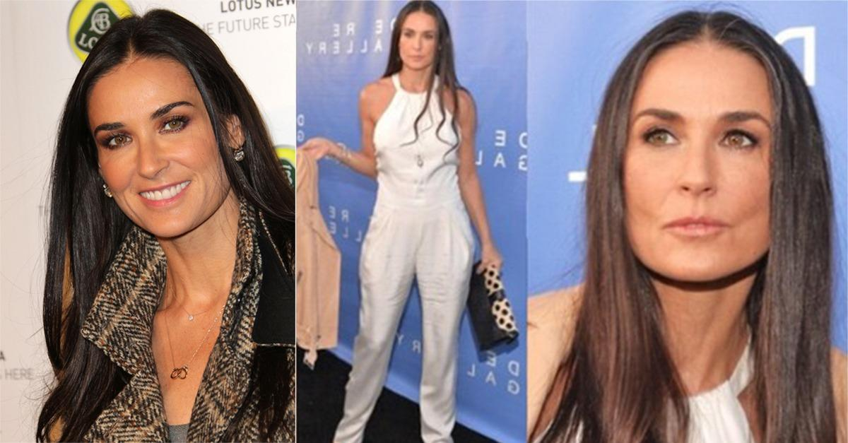 The Secret To Demi Moore's Ageless Skin