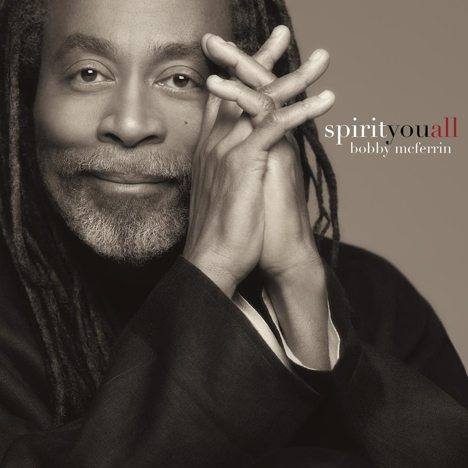 "This CD cover image released by Sony Masterworks shows ""Spirityouall,"" by Bobby McFerrin. (AP Photo/Sony Masterworks)"