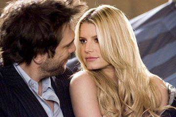 Dane Cook and Jessica Simpson in Lionsgate Films' Employee of the Month