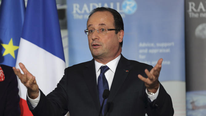 French president faces tough new year