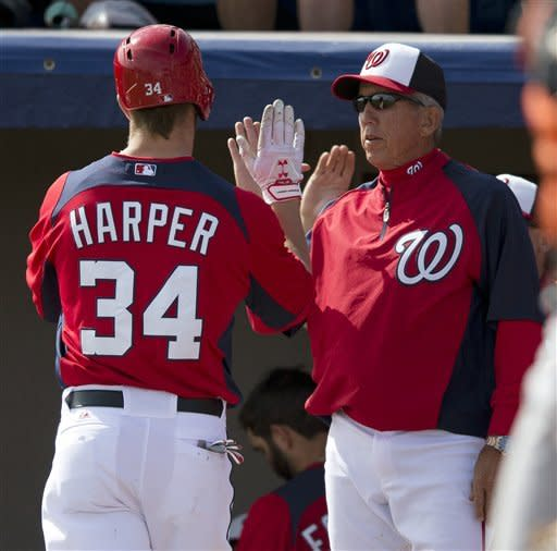 Harper, Zimmerman hit HRs, Nationals beat Miami