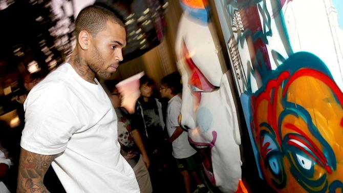 Chris Brown Launches His Symphonic Love Foundation Launch Party