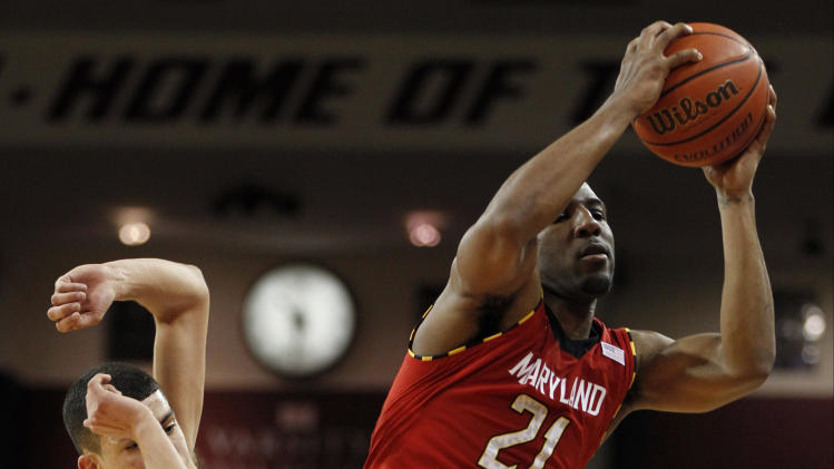 NCAA Basketball: Maryland at Boston College