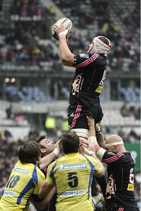 FRANCE-RUGBYU-TOP14-STADE-FRANCAIS-CLERMONT