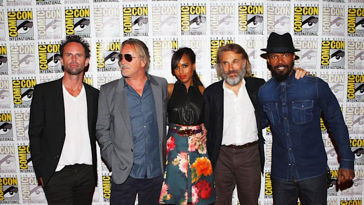 """Django Unchained"" At Comic-Con 2012"