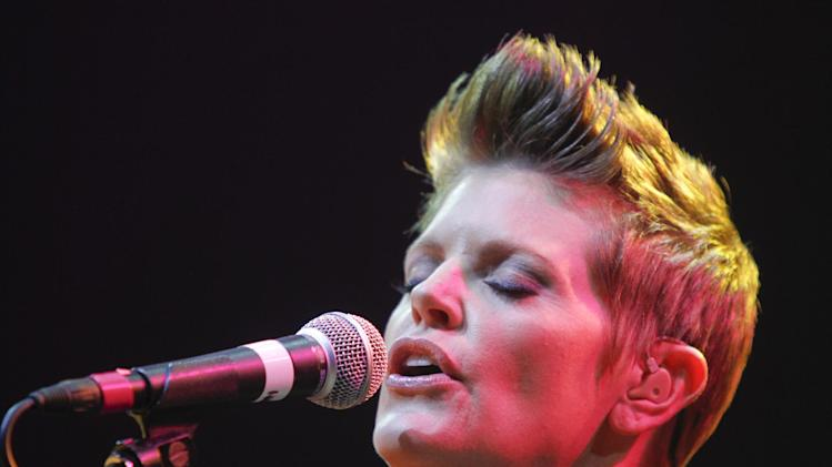 Natalie Maines performs during the SXSW Music Festival, on Wednesday, March 13, 2013 in Austin, Texas. (Photo by Jack Plunkett/Invision/AP Images)