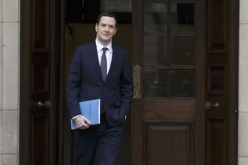 Osborne uses tax forecast to soften spending cuts