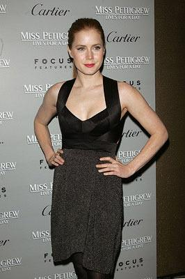 Amy Adams at the New York City premiere of Focus Features' Miss Pettigrew Lives for a Day