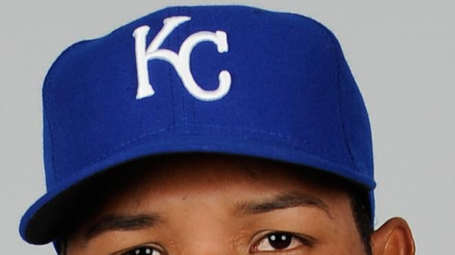Salvador Perez Baseball Headshot Photo