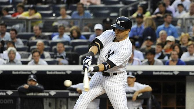 Yankees reinstate Beltran from DL, starts vs A's