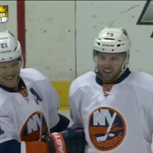 Thomas Vanek snaps one five-hole