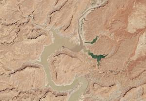New Photos Show Lake Powell Half Full