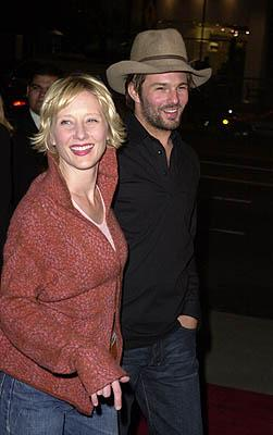 Premiere: Anne Heche with boyfriend Coley at the Los Angeles premiere of Guy Ritchie's Snatch (1/18/2001)