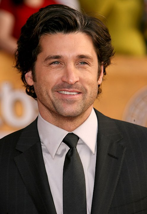 Patrick Dempsey at the 13th Annual Screen Actors Guild Awards. 