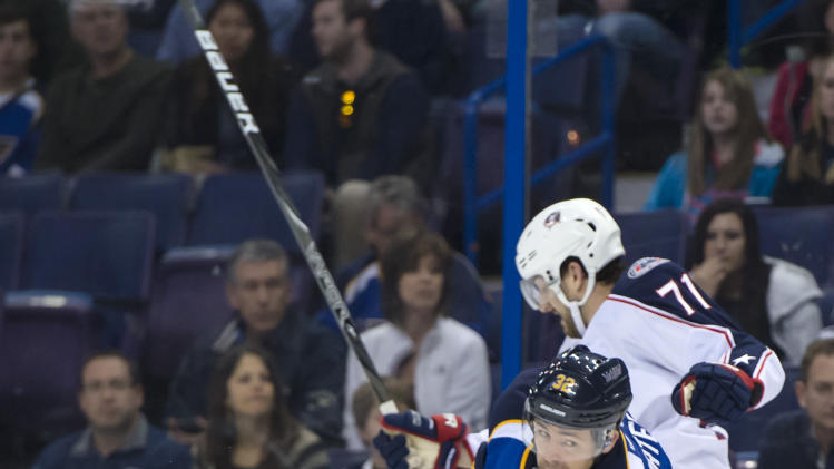 NHL: Columbus Blue Jackets at St. Louis Blues