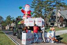 1st Annual Toys For Tots Drive At Cheval In Mint Hill A Huge Success