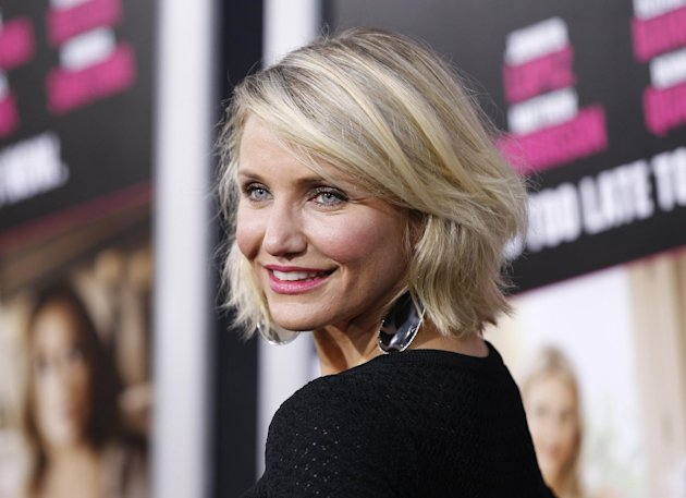 FILE - In this May 14, 2012 file photo, Cast member Cameron Diaz poses at the Los Angeles premiere of the film &quot;What to Expect When You&#39;re Expecting,&quot; in Los Angeles. HarperCollins announced Wednesday, Aug. 8, 2012 that the star of &quot;Charlie&#39;s Angels,&quot; &#39;&#39;There&#39;s Something About Mary&quot; and other films has an agreement with the publisher for a book on health and wellness. Diaz&#39;s book is currently untitled and scheduled for publication in the fall of 2013. (AP Photo/Danny Moloshok, File)