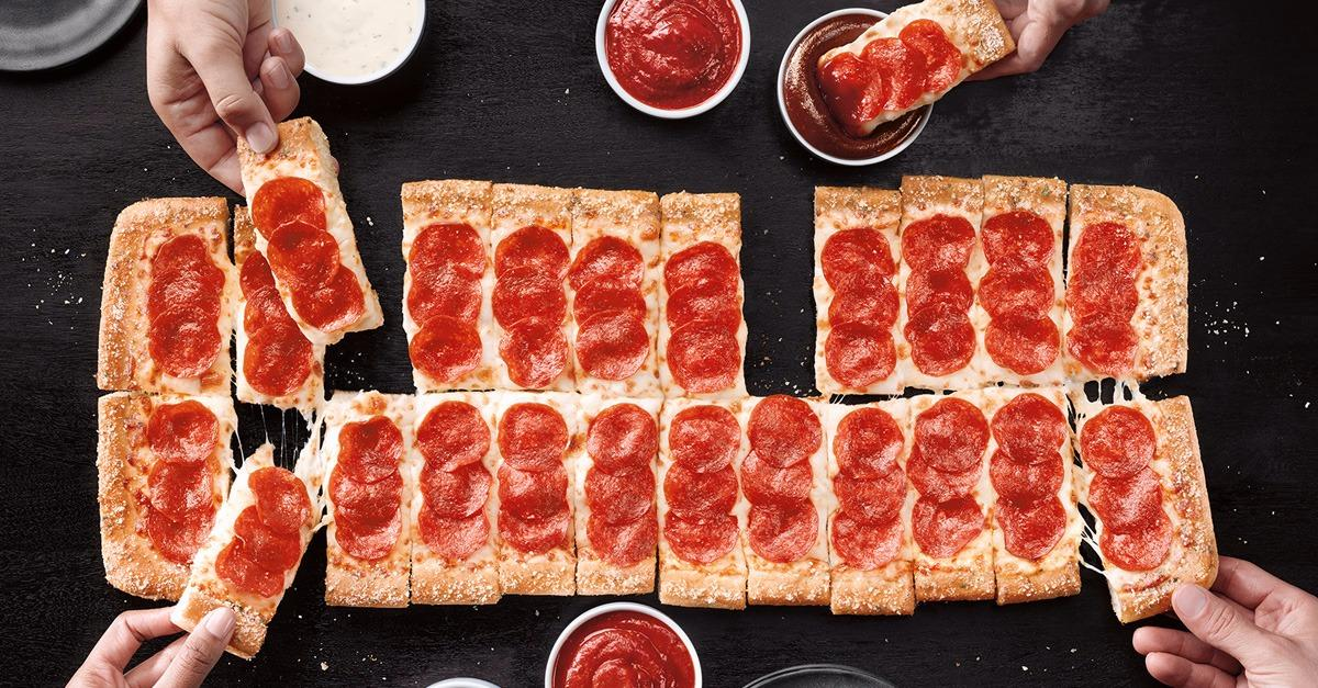 Pizza Hut launches new pizza almost 2 ft. long