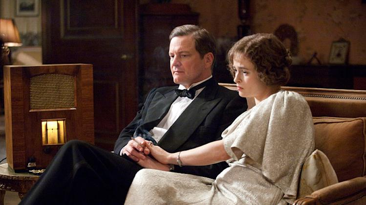 The King's Speech 2010 Weinstein Company Colin Firth Helena Bonham Carter