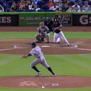 Solano's RBI single