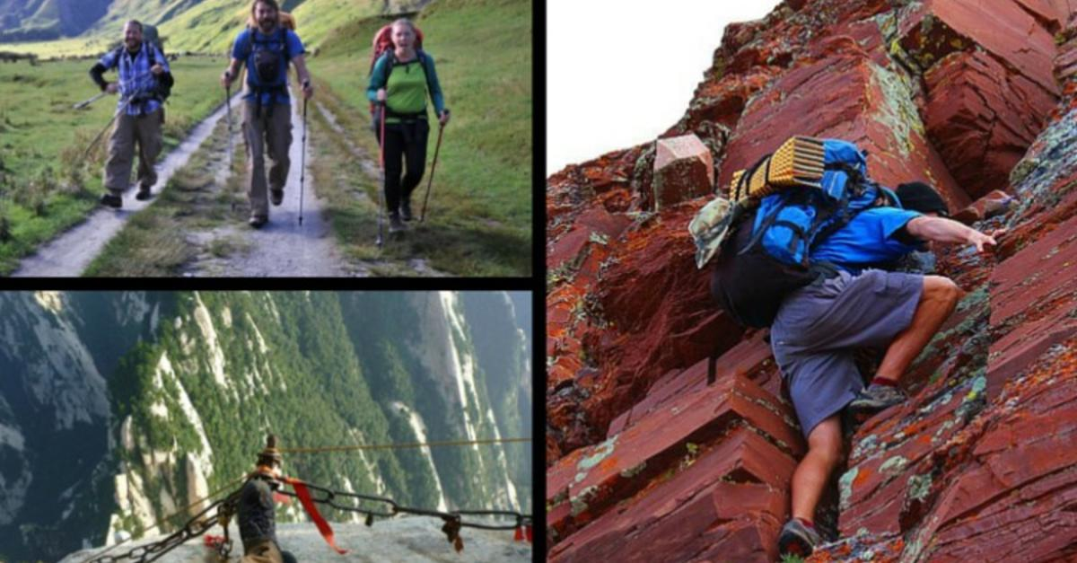 16 Hiking Trails For The Dangerously Inclined