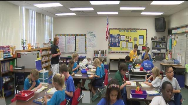 FCAT scores celebrated at Pinellas school