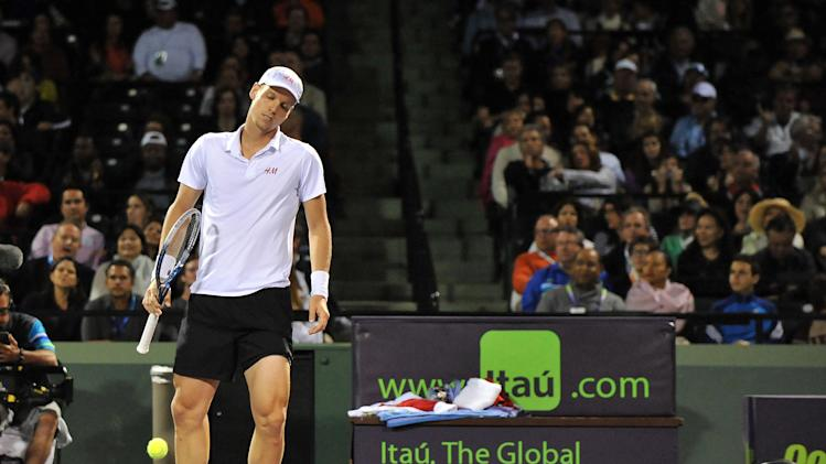 Tennis: Sony Open-Gasquet vs Berdych