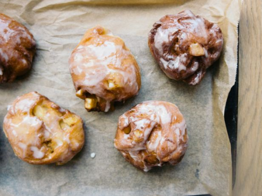 Apple Fritters — Bake-Ahead Batches
