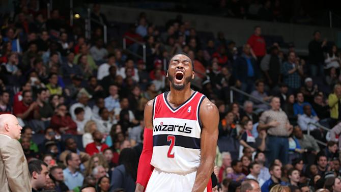 Wall, Wizards beat Hawks 101-97